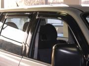 Ветровики (дефлекторы окон) для Mitsubishi Pajero Sport (1997 - 2008)