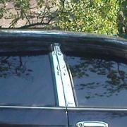 Хром на стойки дверей для Nissan Maxima QX A32 (95 - 2000)