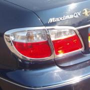 Хром на задние фонари для Nissan Maxima QX A33 (2000 - 2005)