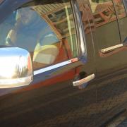 Нижние молдинги окон для Nissan Navara (2005 - 2014)
