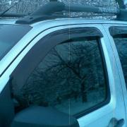 Ветровики (дефлекторы окон) для Nissan Navara (2005 - 2014)
