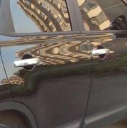Хром на ручки дверей для Nissan Qashqai (2007 - 2014)