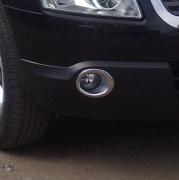 Хром на передние противотуманки для Nissan Qashqai (2007 - 2014)