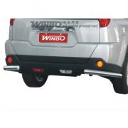 Углы заднего бампера (одинарные) для Nissan X-Trail (2007 - 2014)