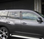 Нижние молдинги стекол для Toyota Prado 150 (2018 - ... )