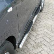 Боковые пороги (трубы) для Hyundai IX35 (2009 - 2015)