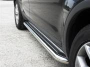 Боковые пороги для Hyundai IX35 (2009 - 2015)