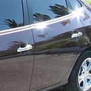 Хром накладки на дверные ручки для Hyundai Elantra (2007 - 2010)