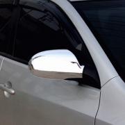 Хром накладки на зеркала заднего вида для Hyundai Elantra (2007 - 2010)