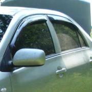 Дефлекторы окон для Toyota Corolla (2007 - 2012)