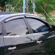 Дефлекторы дверных окон (ветровики) для Hyundai Elantra (2007 - 2010)