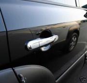 Хромированные накладки на ручки дверей для Hyundai Tucson (2004 - 2014)