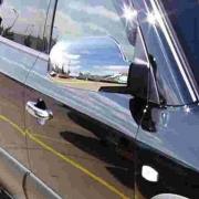 Хром на зеркала для Hyundai Tucson (2004 - 2014)