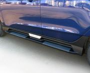Боковые пороги (пластиковые) для Hyundai IX35 (2009 - 2015)