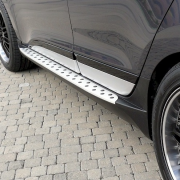 Боковые пороги (стиль BMW) для Hyundai IX35 (2009 - 2015)
