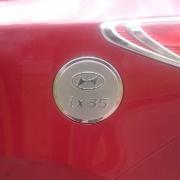 Накладка на крышку бензобака для Hyundai IX35 (2009 -2015)