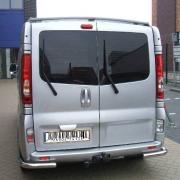 Углы одинарные для Renault Trafic (2004 - 2010)