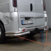 Углы двойные для Renault Trafic (2004 - 2010)