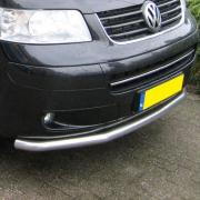 Дуга вдоль переднего бампера для Volkswagen Transporter T5 (2004 - 2009)