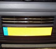 Накладки на решетку бампера для Volkswagen Transporter T5 (2004 - 2009)