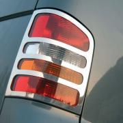 Хром задних фонарей для Volkswagen Transporter T5 (2004 - 2009)