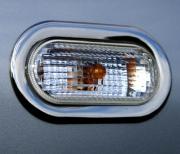 Хром на повторители поворотов для Volkswagen Transporter T5 (2004 - 2009)