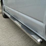 Боковые пороги (трубы) для Volkswagen Transporter T4 (92 - 2003)