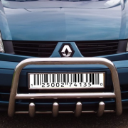 Кенгурятник для Renault Kangoo (2003 - 2008)