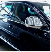 Хром на зеркала (с 2008 года) для Volkswagen Touareg (2002 - 2010)