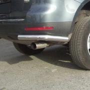 Задняя защита, углы для Volkswagen Touareg (2002 - 2010)