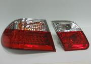Фонари задние на лампочках для Mercedes W210 (1995 - 2002)