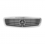 Решетка радиатора с эмблемой для Mercedes W220 (1998 - 2006)