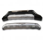Комплект накладок на передний и задний бампер для Hyundai IX35 (2009 -2015)