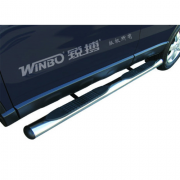Боковые пороги (трубы) для Honda CR-V (2007 - 2012)
