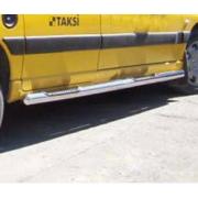 Боковые пороги (трубы) для Peugeot Partner (2002 - 2008)