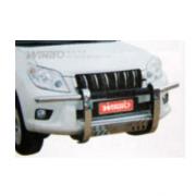 Накладка на передний бампер для Toyota Prado 150 (2009 - 2017)