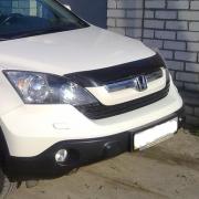 Мухобойка (дефлектор капота) для Honda CR-V (2007 - 2011)