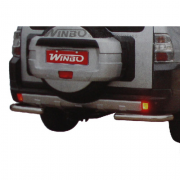 Углы заднего бампера для Mitsubishi Pajero 4 (2007 - ...)