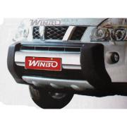 Губа на передний бампер для Nissan X-Trail (2007 - 2014)
