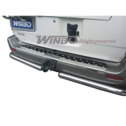 Накладка на задний бампер (98-03) для Toyota Land Cruiser 100 (98 - 2006)