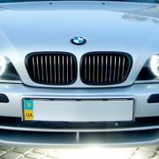 Решетка радиатора (темная) для BMW 5-серия E39 (95 - 2003)