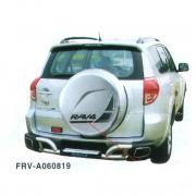 Дуга заднего бампера с приступом под ноги для Toyota RAV4 (2006 - 2012)