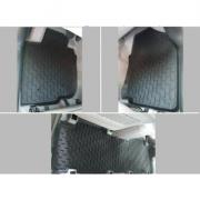 Коврики резиновые в салон для Toyota RAV4 (2006 - 2012)