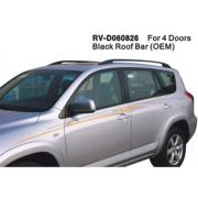 Рейлинги черные для Toyota RAV4 (2006 - 2012)