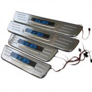 Накладки на пороги (с подсветкой) для Hyundai IX35 (2009 -2015)