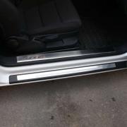 Накладки на пороги (3d) для Audi A3 (2004 - 2007)
