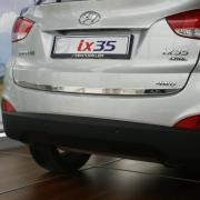 Хром молдинг на край крышки багажника для Hyundai IX35 (2009 -2015)