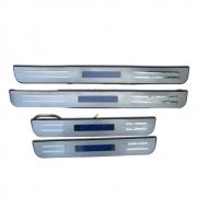 Накладки на пороги (с подсветкой) для Mazda CX-7 (2006 - 2012)