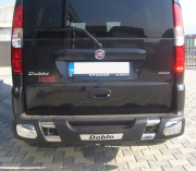 Дуга заднего бампера для Fiat Doblo (2001 - 2009)