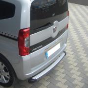 Площадка на задний бампер для Fiat Fiorino (2008 - ...)